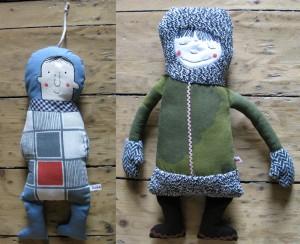 puppe-eskimo-und-astronaut