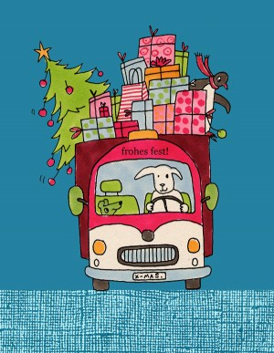 bus in farbe