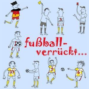 Grafik Fussballverrueckt