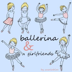 Grafik ballerina and girlfriends