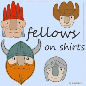 fellows on shirts grafik