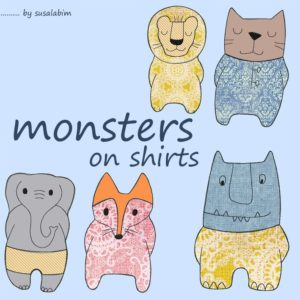 grafik monsters on shirts